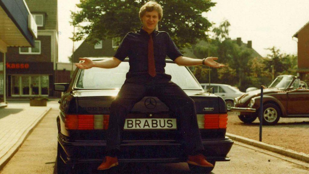 Mercedes 500 SEL en Bodo Buschmann (1984)