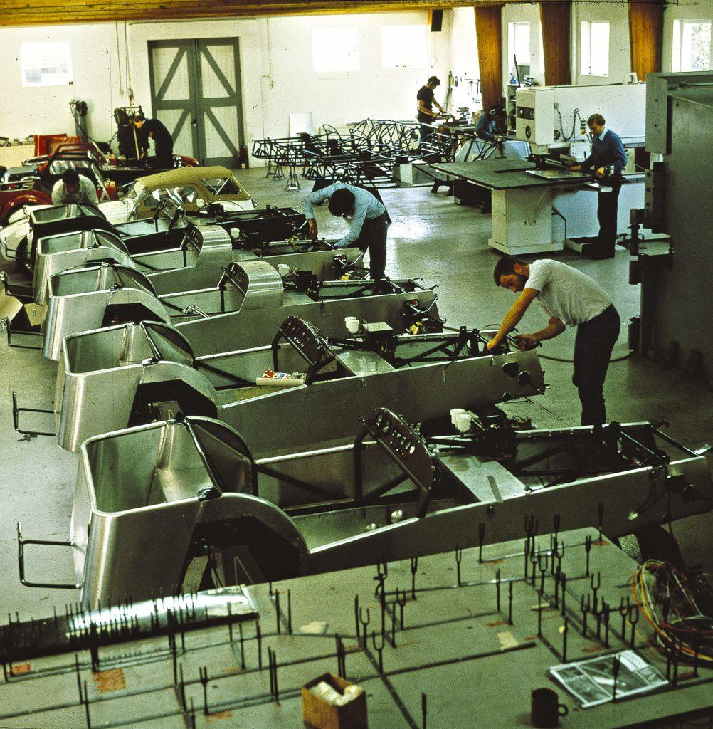 Donkervoort fabriek