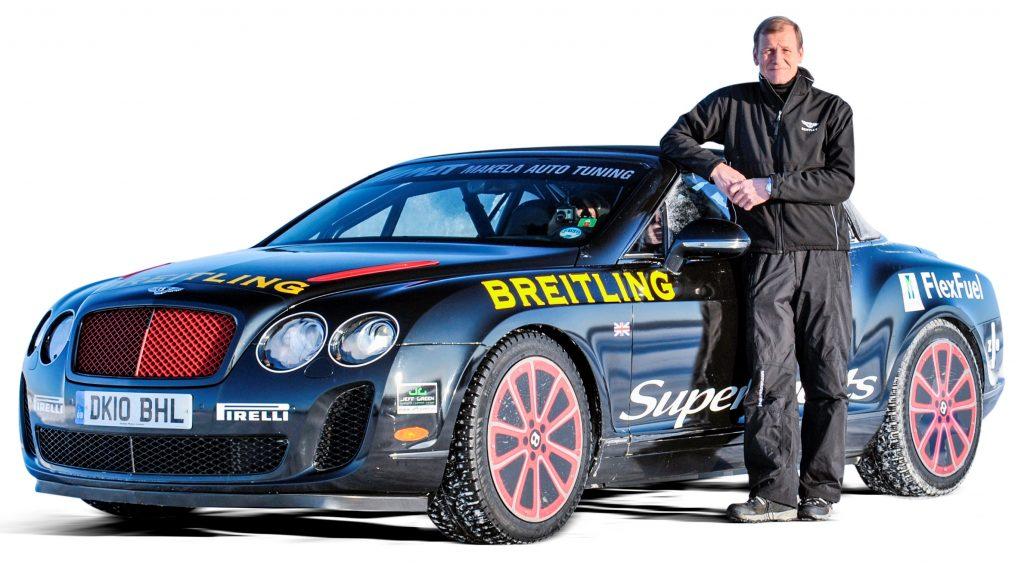 Juna Kankkunen Bentley Continental (2011)