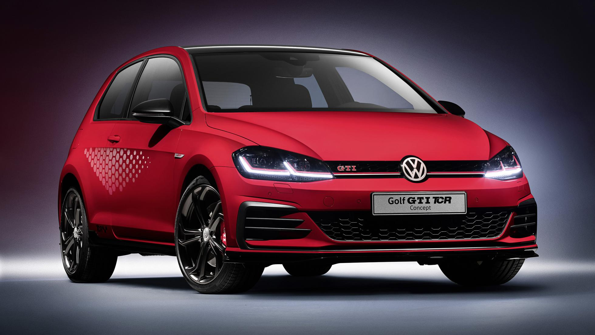 Volkswagen Golf Gti Tcr Is De Snelste Golf Topgear Nederland