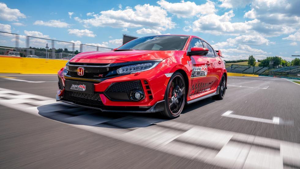 Honda Civic Type R zet FWD-record op Hungaroring