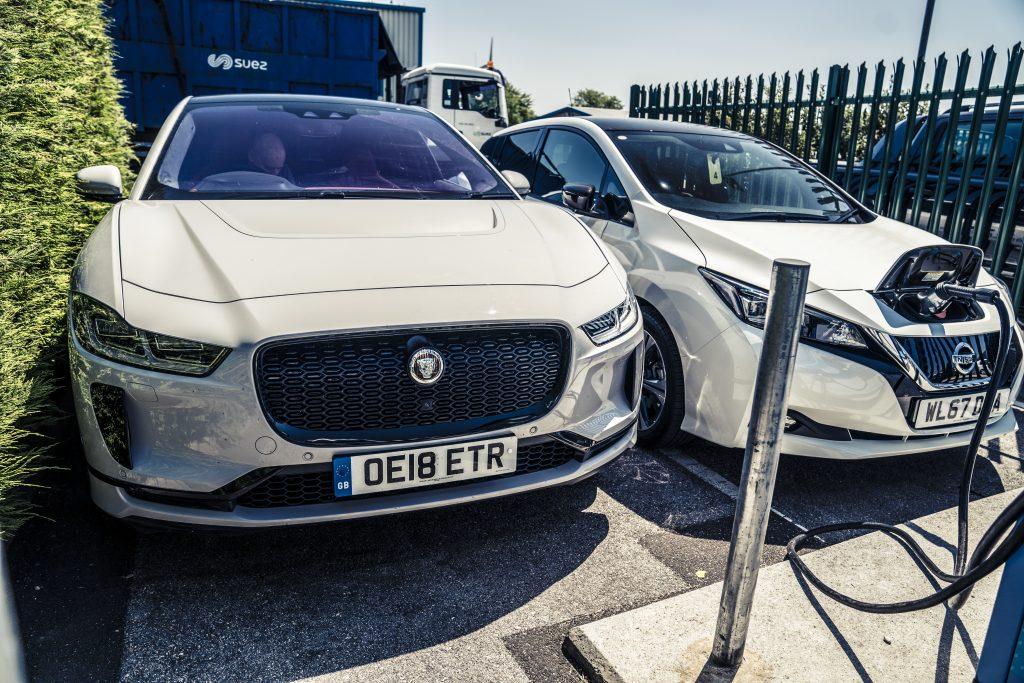 Jaguar I-Pace stekker laden