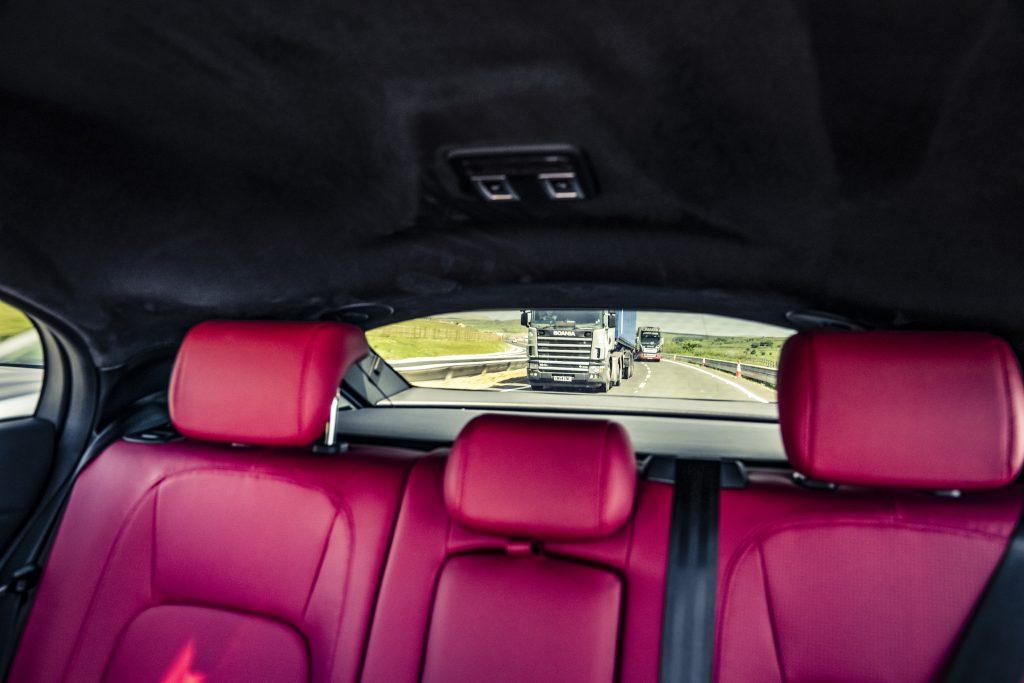 Jaguar I-Pace Achterbank