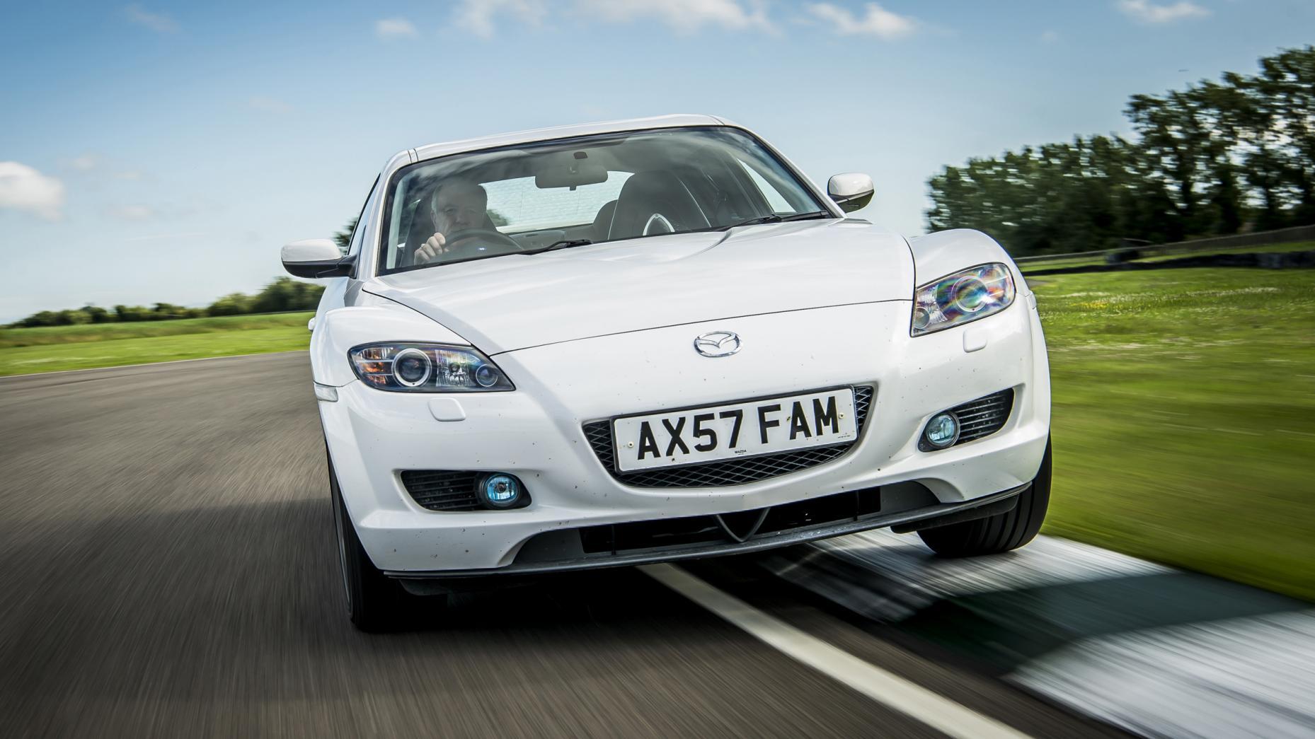 Mazda RX-8 wit