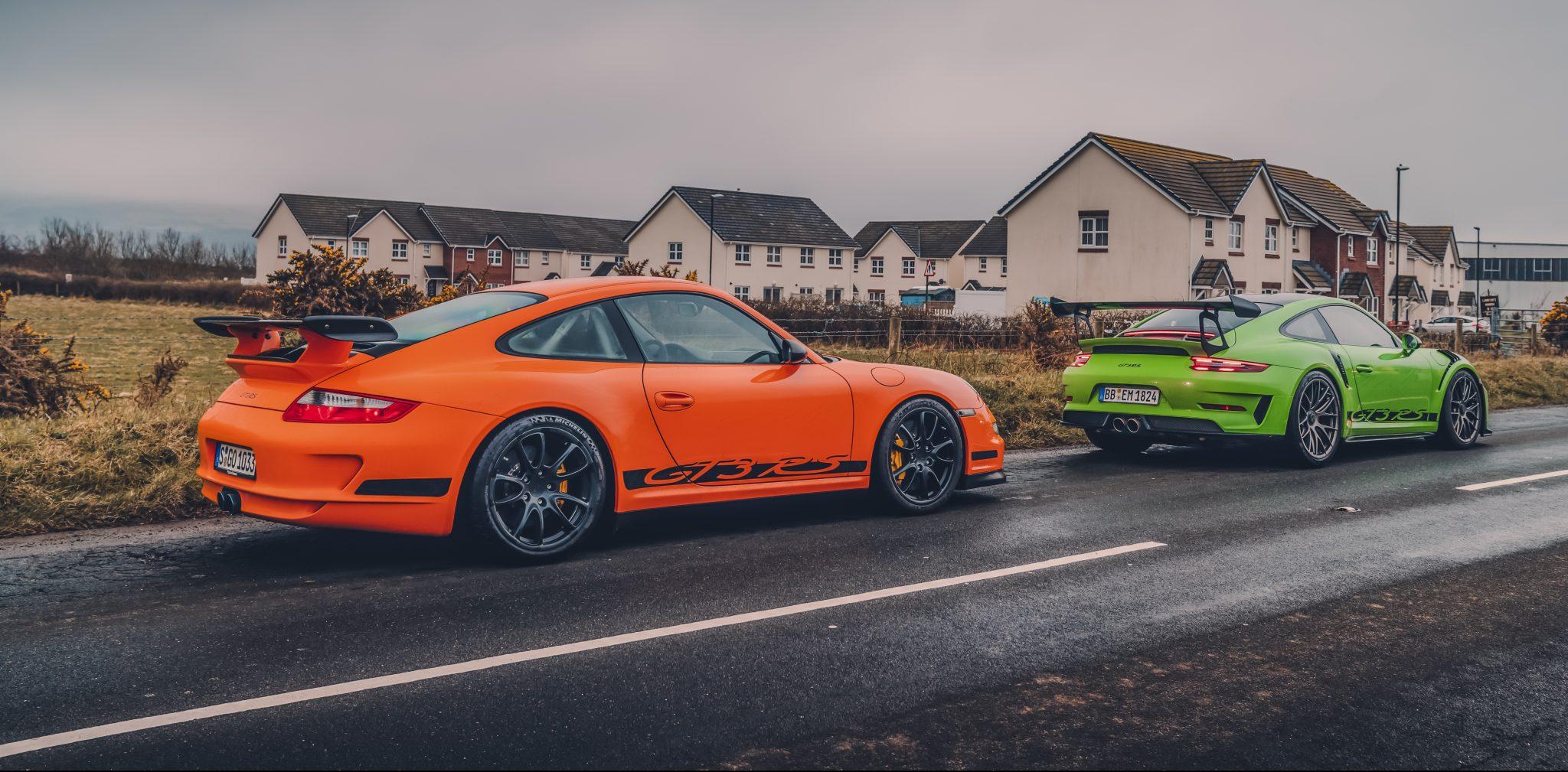 Porsche 911 gt3 rs 997 991.2