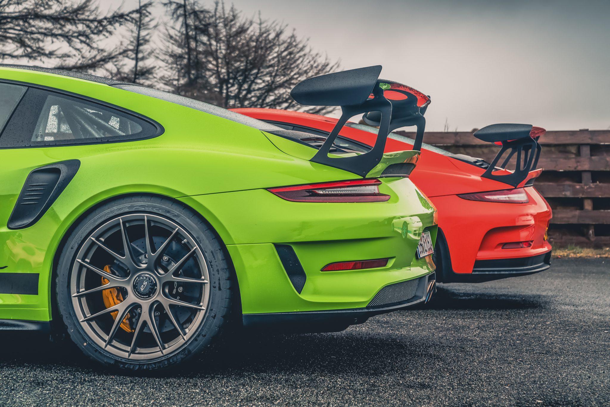Porsche 911 GT3 RS 991 vs 991.2