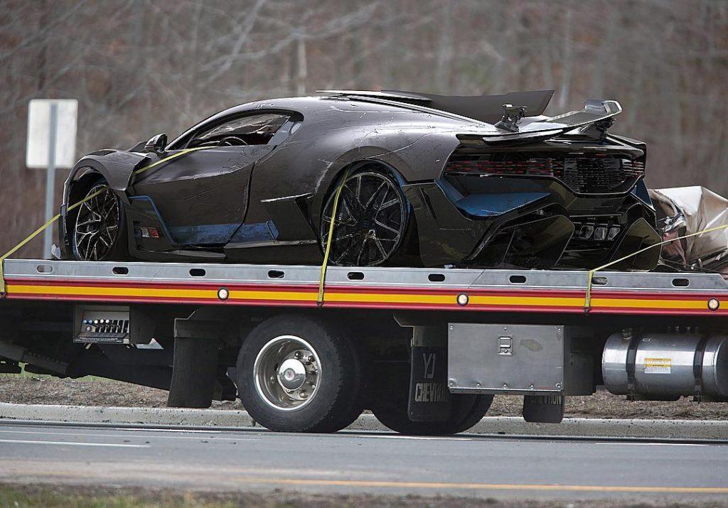 bugatti divo crash