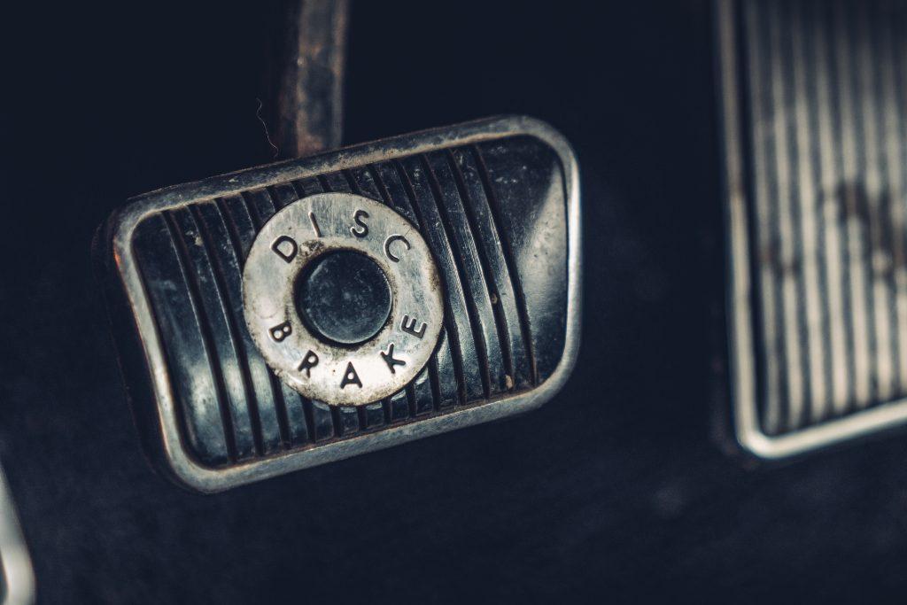 Ford Mustang GT 390 Fastback 68er Highland Green Steve McQueen The Boss pedaal