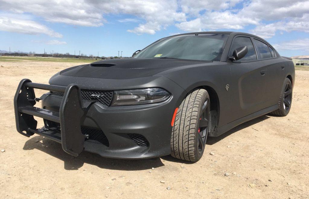 Gepantserde Dodge Charger