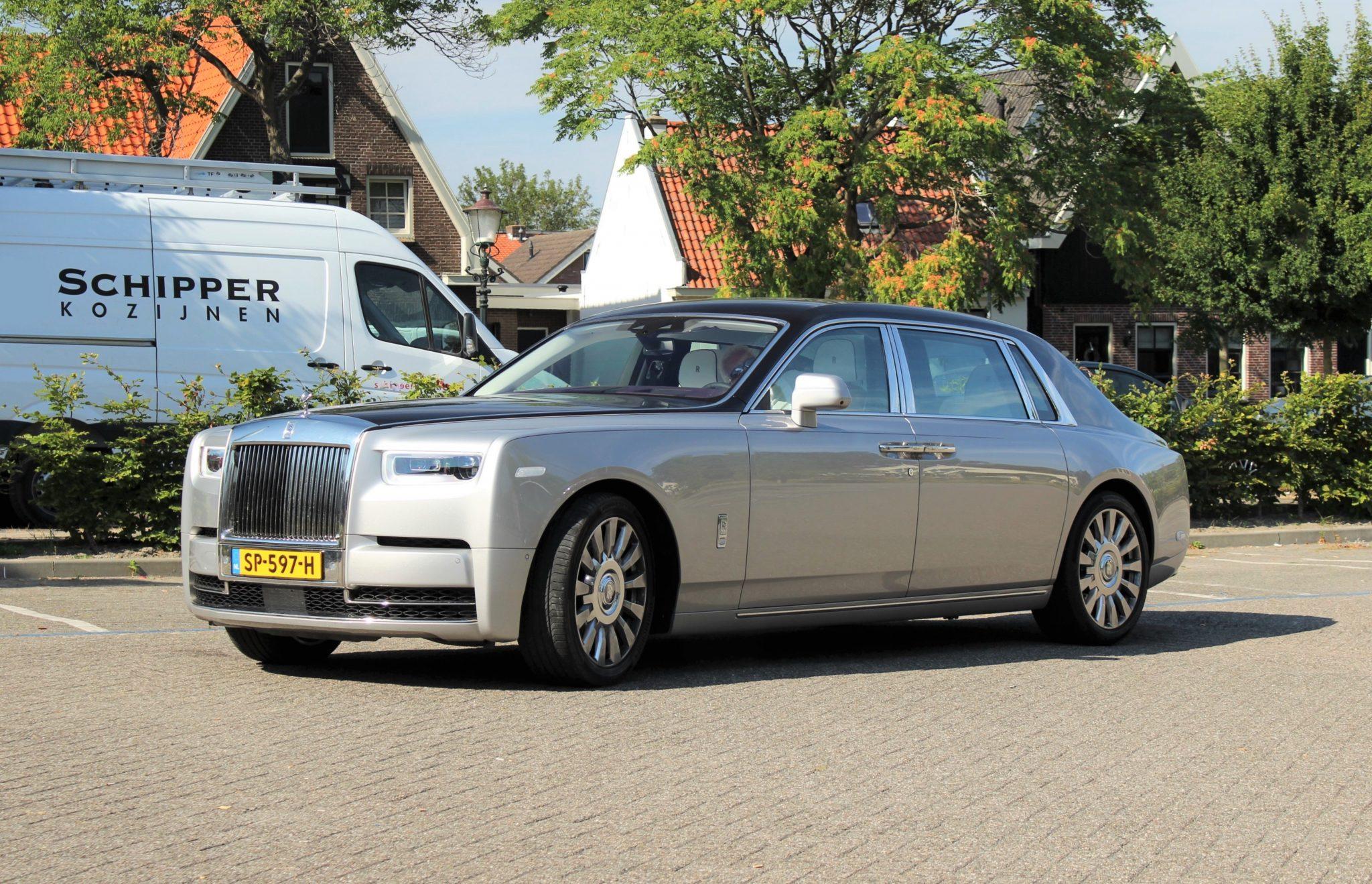 Rolls-royce phantom 8 duurste van nederland