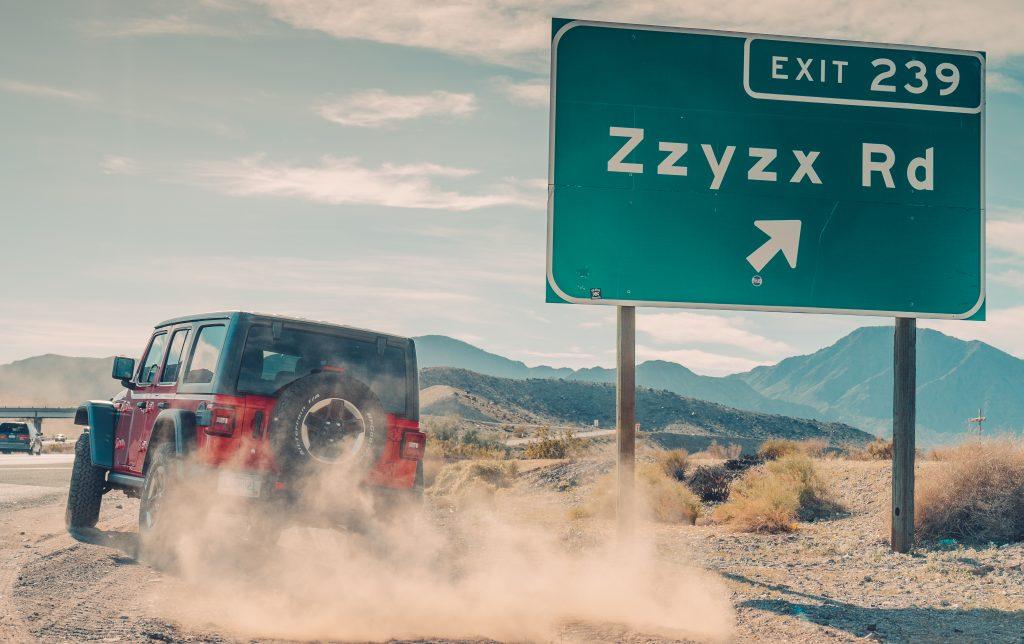 Jeep Wrangler Rubicon zzyzx