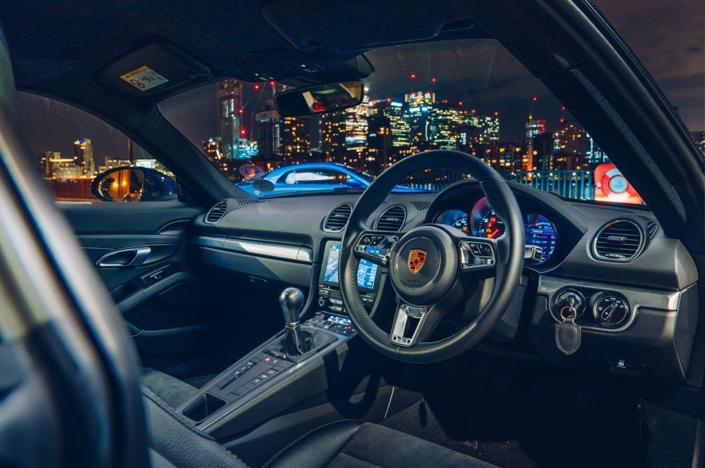 Porsche 718 Cayman interieur