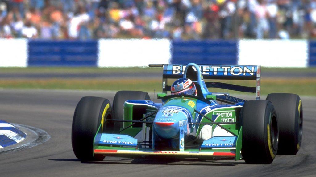 60 jaar Cosworth geschiedenis in beeld - Benetton B194 Ford Zetec-R V8 engine Formule 1 F1