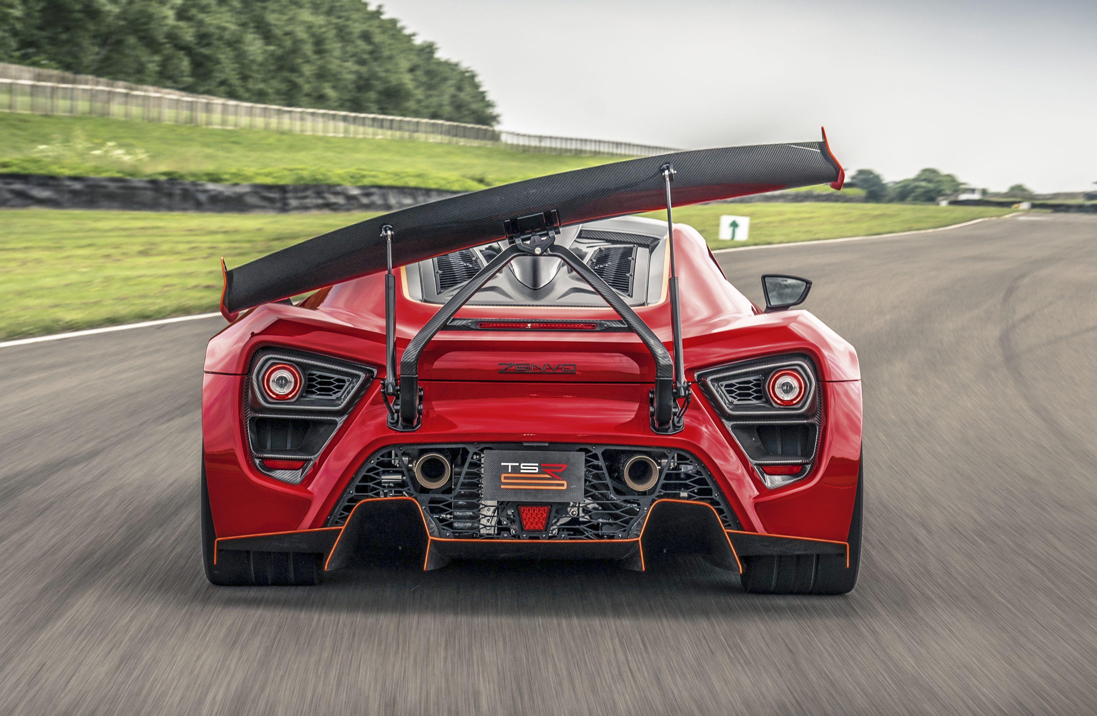 Actieve aerodynamica voor dummies Zenvo TSR-S