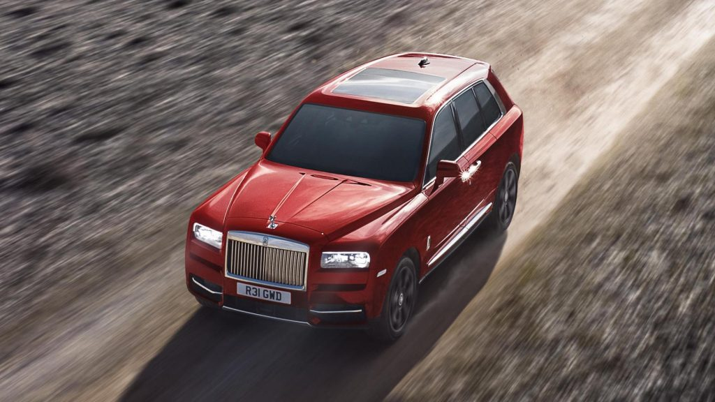 Rolls-Royce Cullinan Hybride