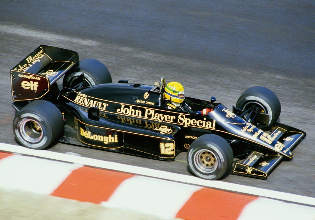 Lotus 98T Ayrton Senna (1986)
