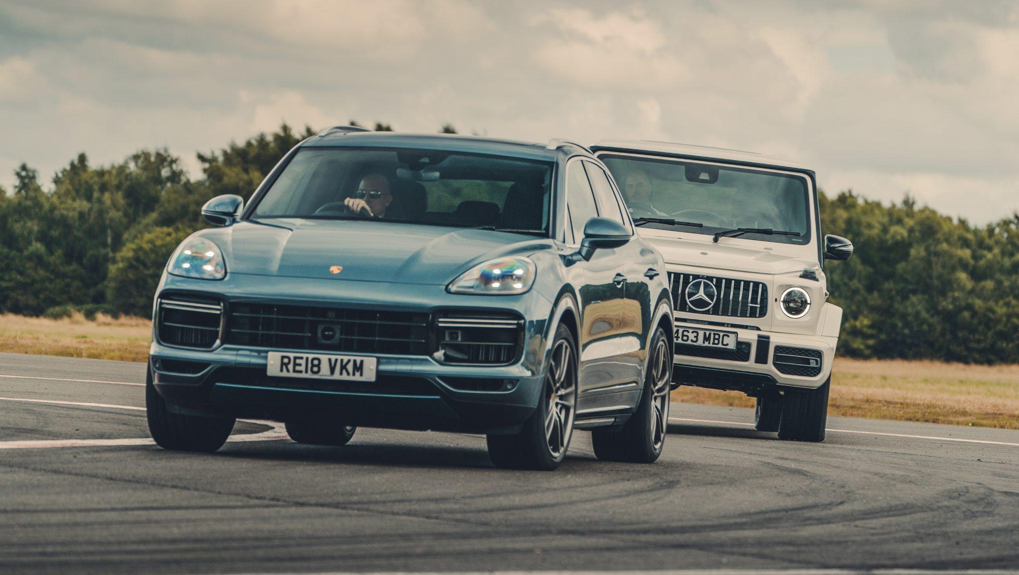 Porsche Cayenne Turbo en Mercedes-AMG G 63 S