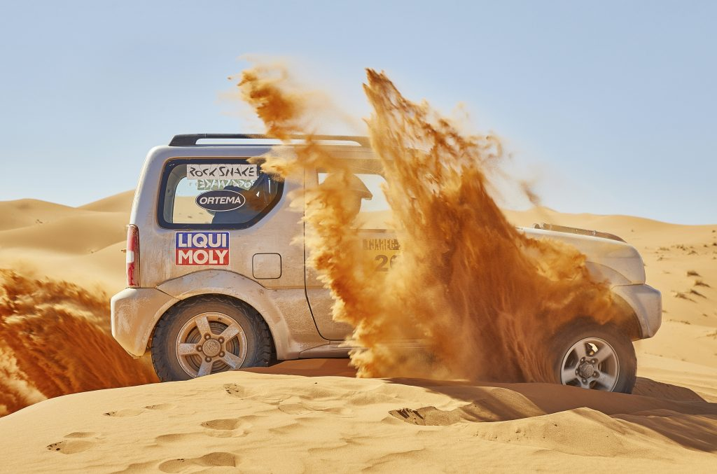 Suzuki Jimny Tuareg Rallye