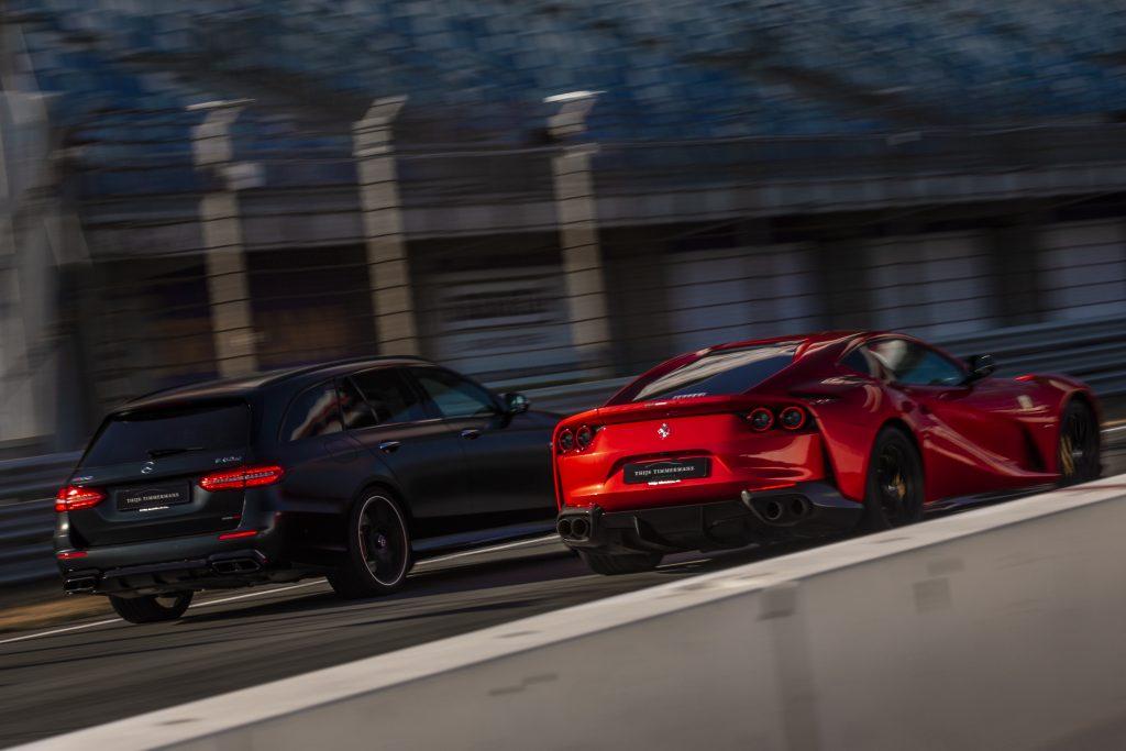 Brabus 800 vs Ferrari 812