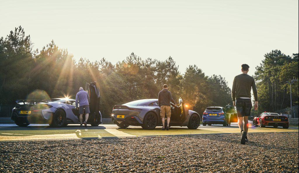 Vantage vs 600LT vs Lotus Exige vs Fiesta ST 5