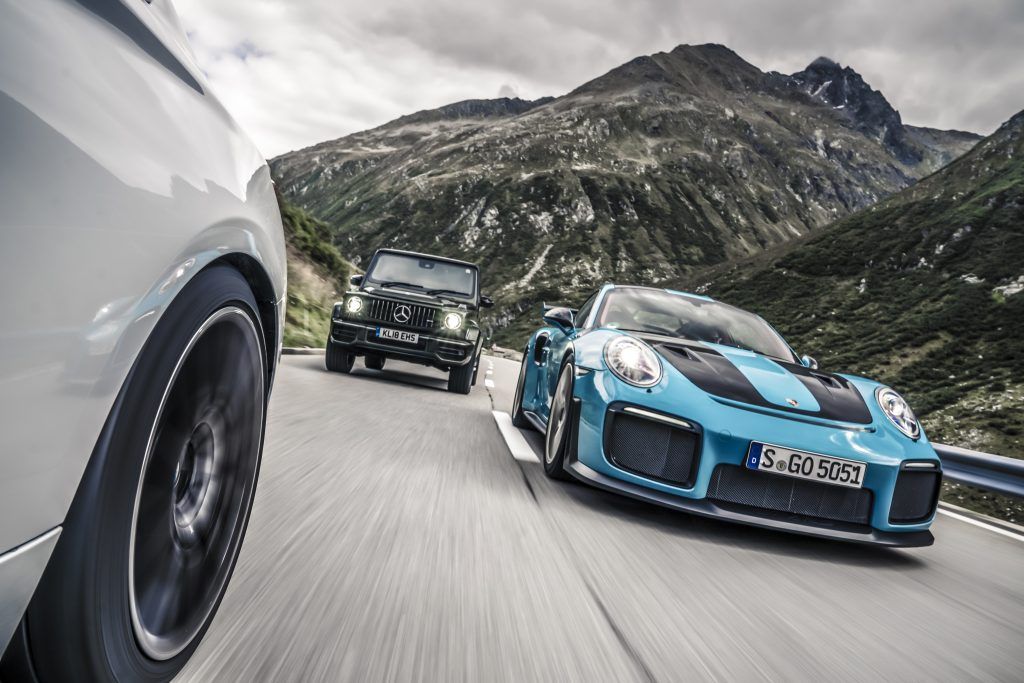 Mercedes-AMG G 63 vs Porsche 911 GT2 RS vs BMW M2 Competition
