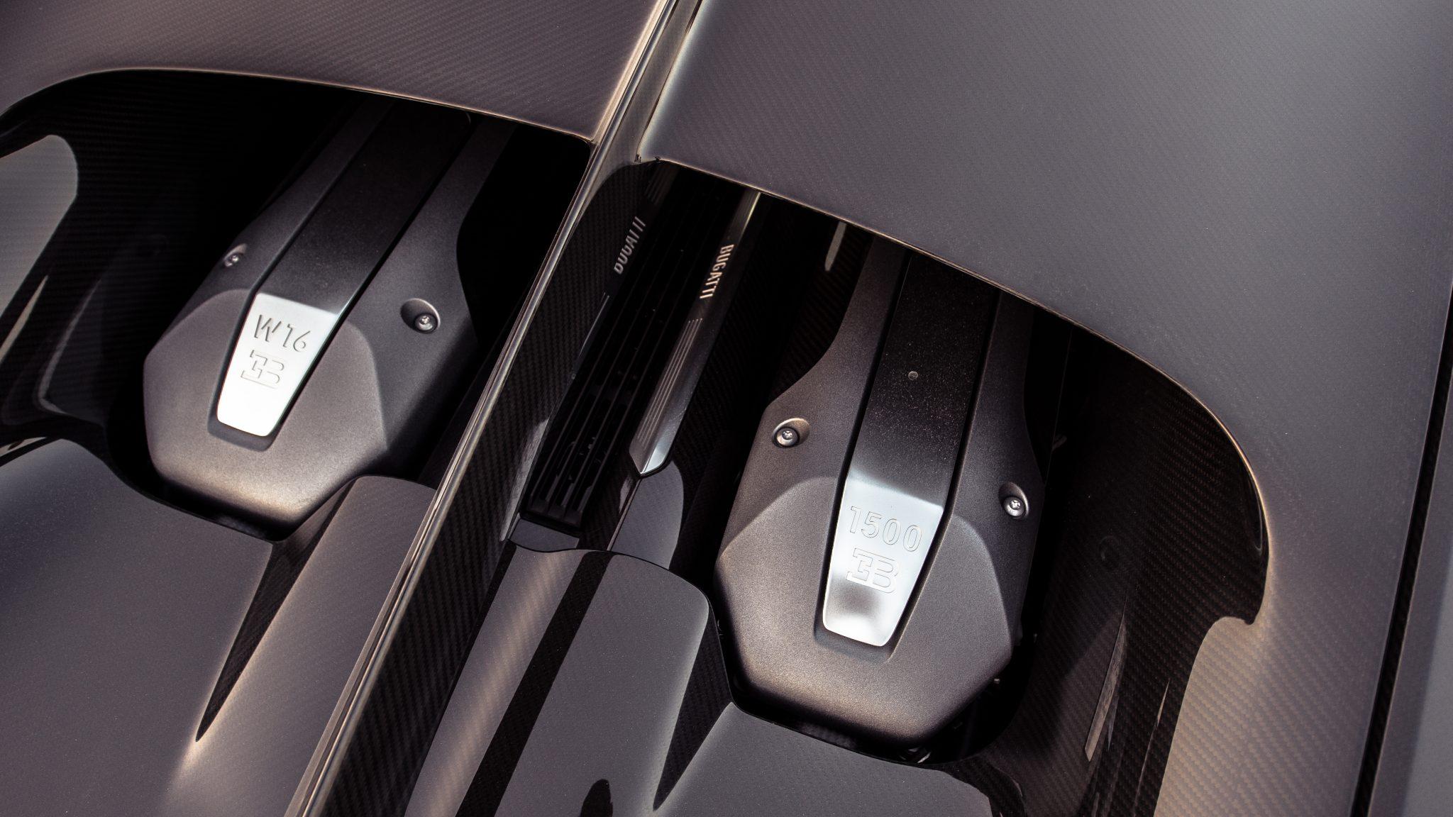 Bugatti Chiron bovenaanzicht