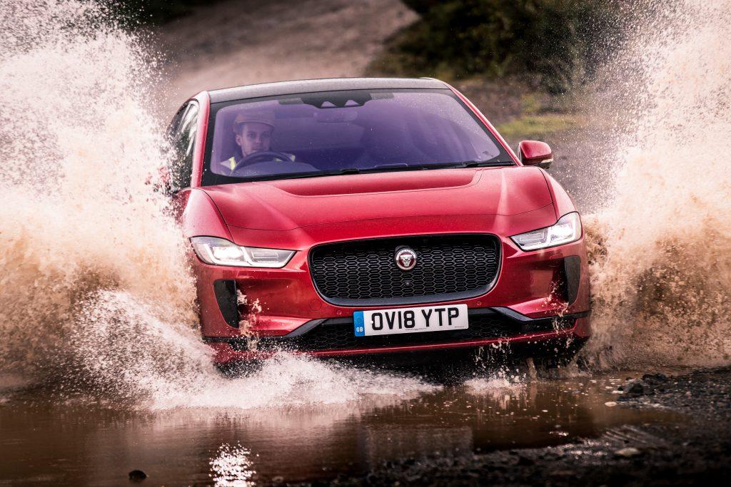 Jaguar i-pace 2018 rood