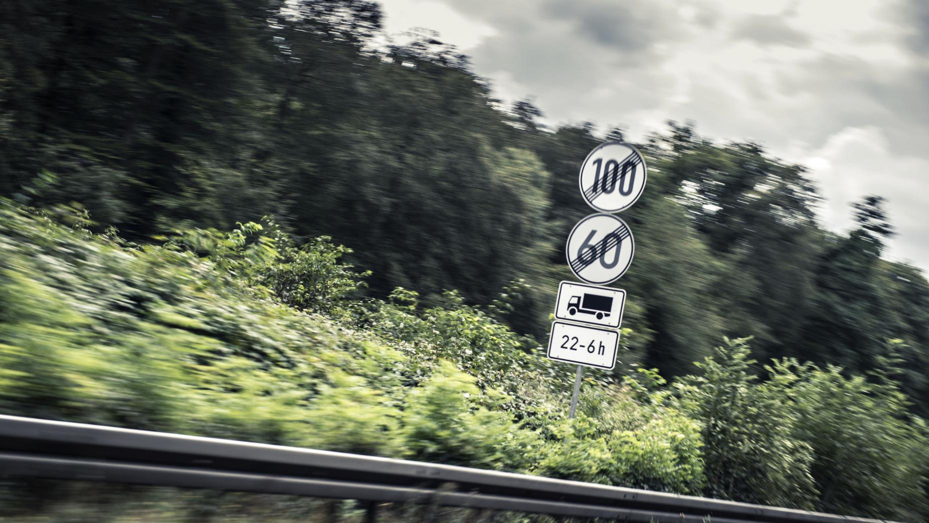 maximumsnelheid in duitsland