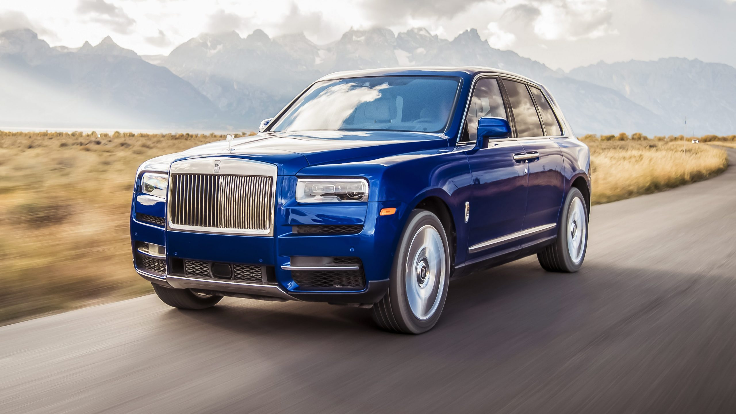 Rolls-Royce Cullinan blauw