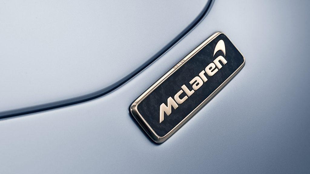 McLaren Speedtail embleem badge