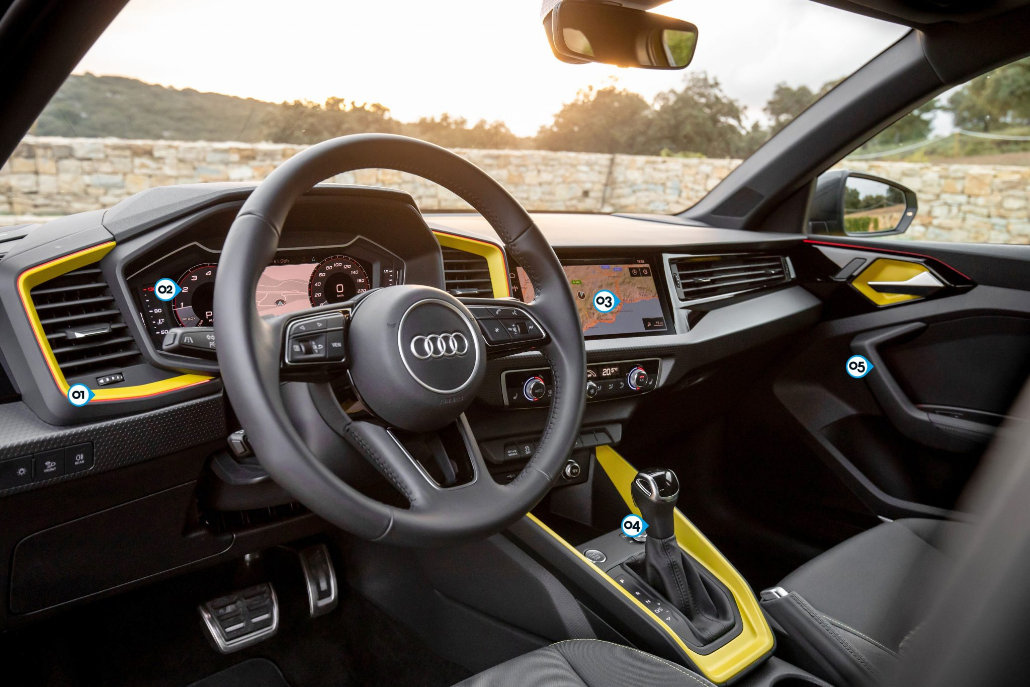 Audi A1 Sportback 30 TFSI S-Line (2019) interieur