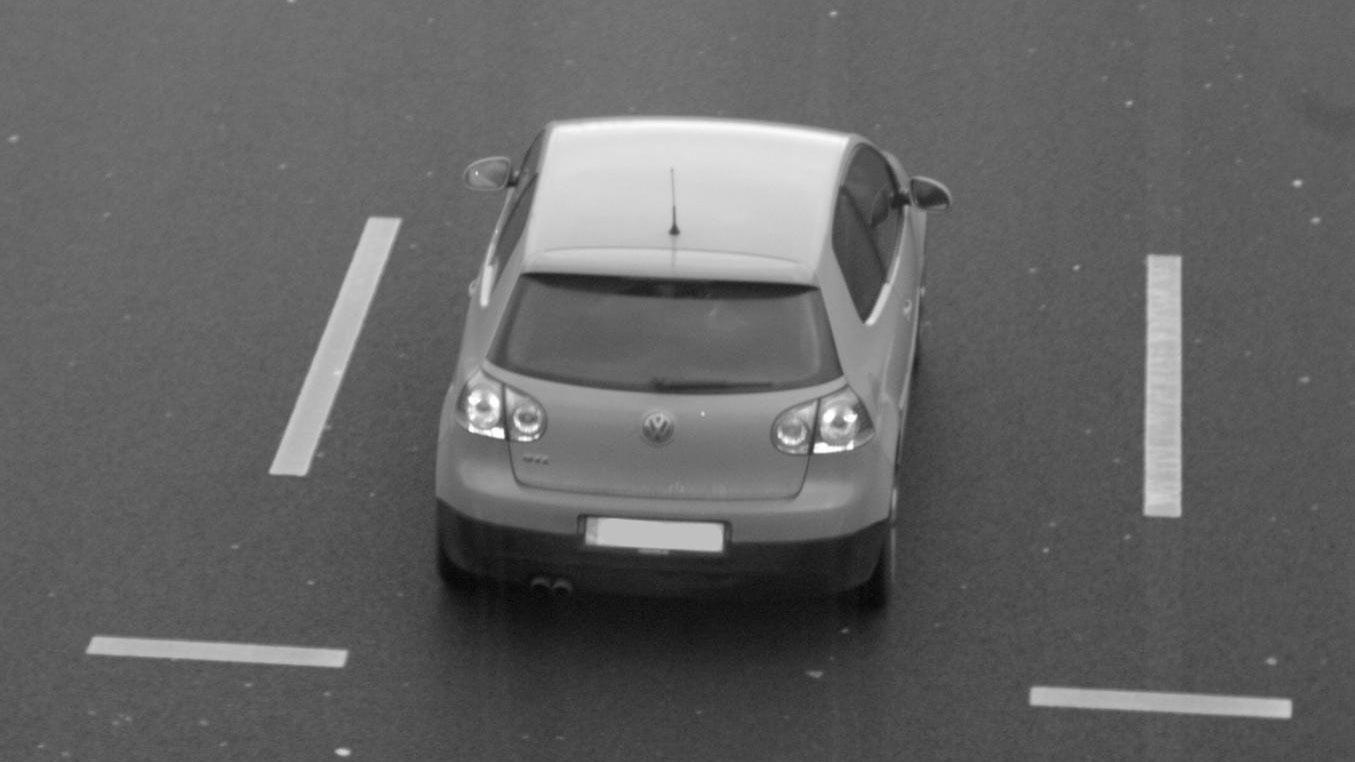 Flitsfoto Golf GTI