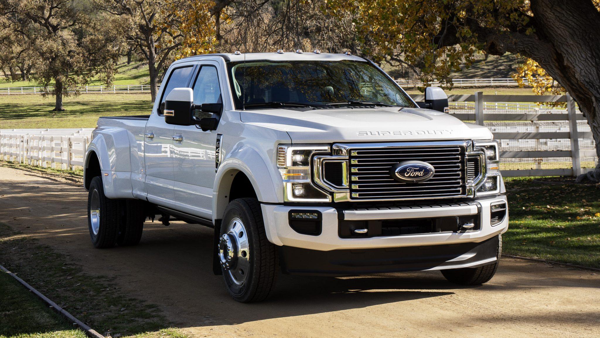 Ford F-series Super DutyFord F-series Super Duty 7,3-liter v8
