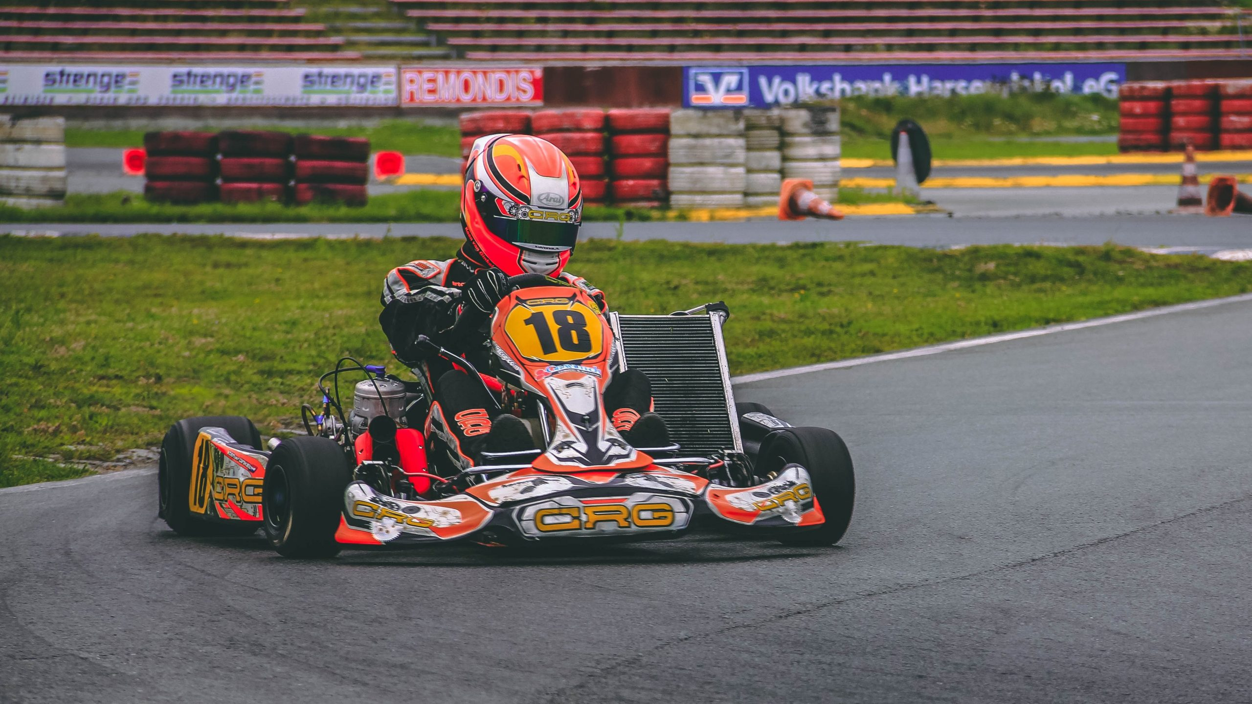 CRG kart outdoor