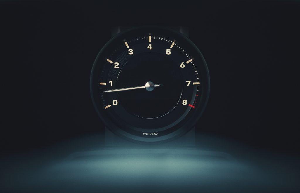Porsche 911 Carrera S meter