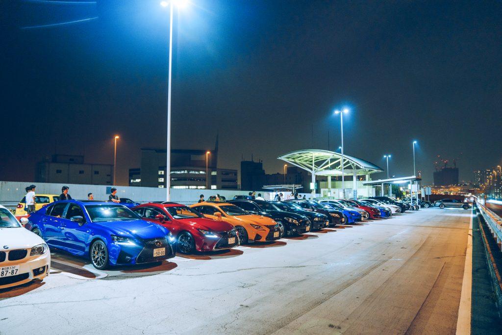 Tatsumi parkeerplaats