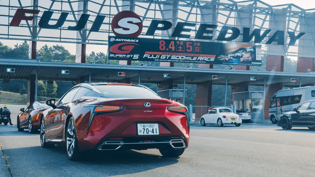 Super GT Lexus LC 500 Fuji Speedway
