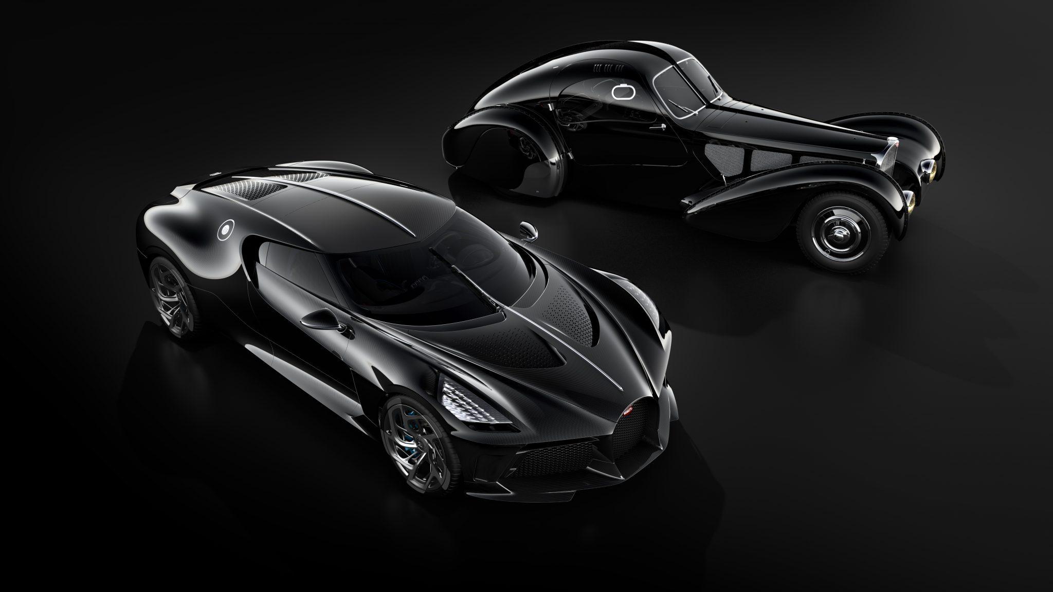 Bugatti La Voiture Noire vs Type 57 SC Atlantic