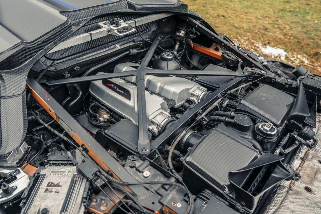Italdesign Zerouno motor