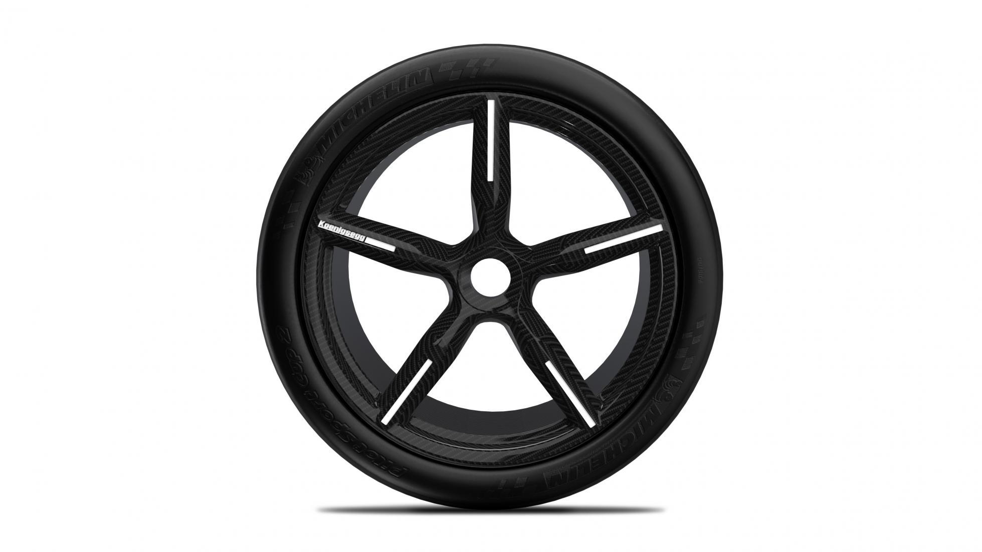 Koolstofvezel velg Koenigsegg