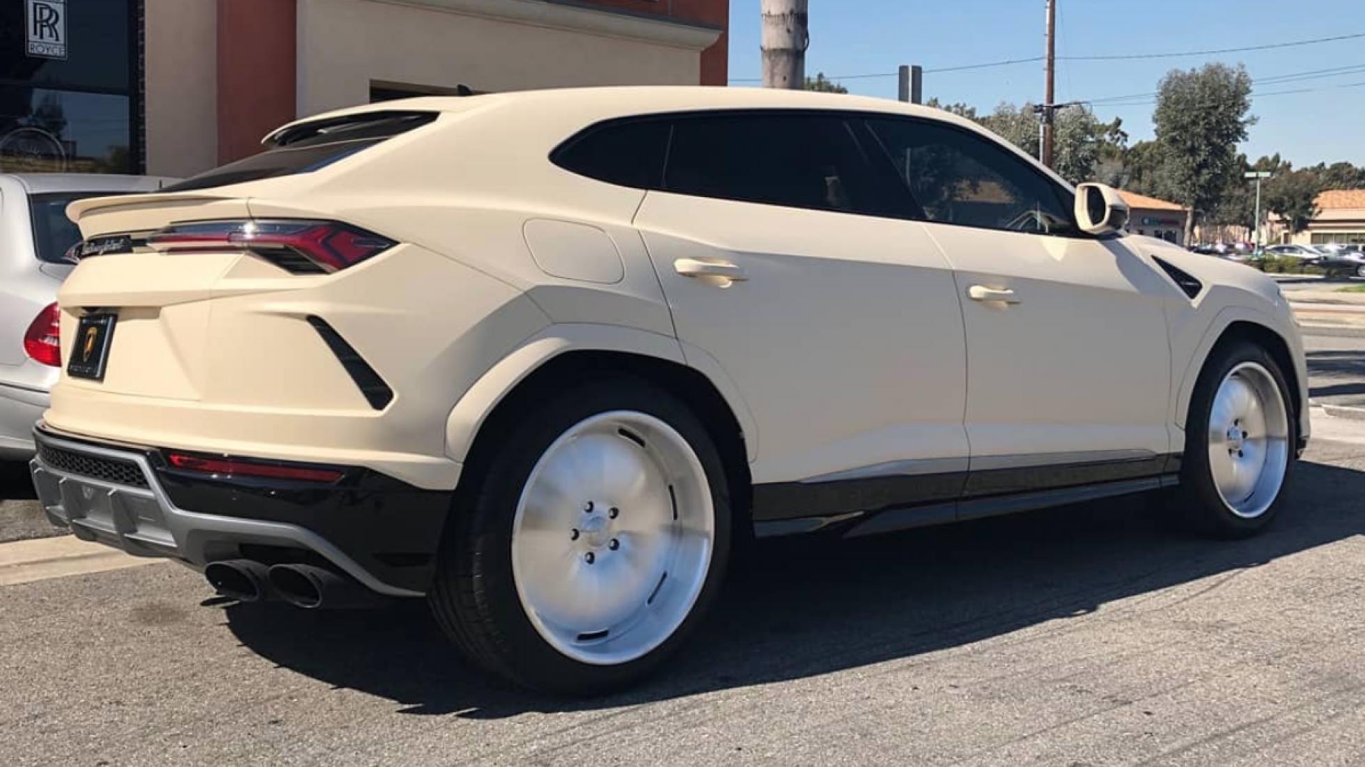 Lamborghini Urus van Kanye West