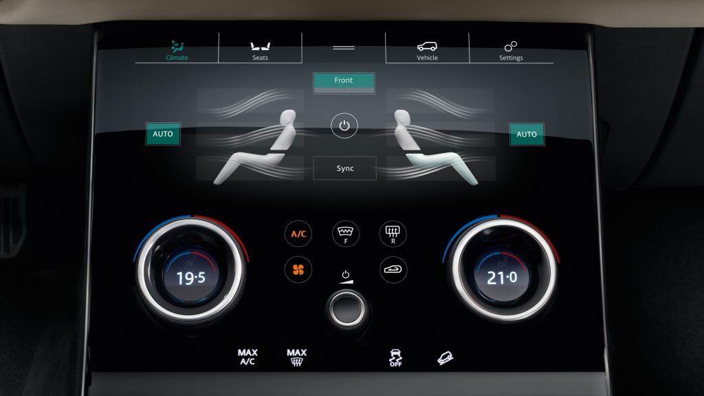 Range Rover Velar Touchscreen