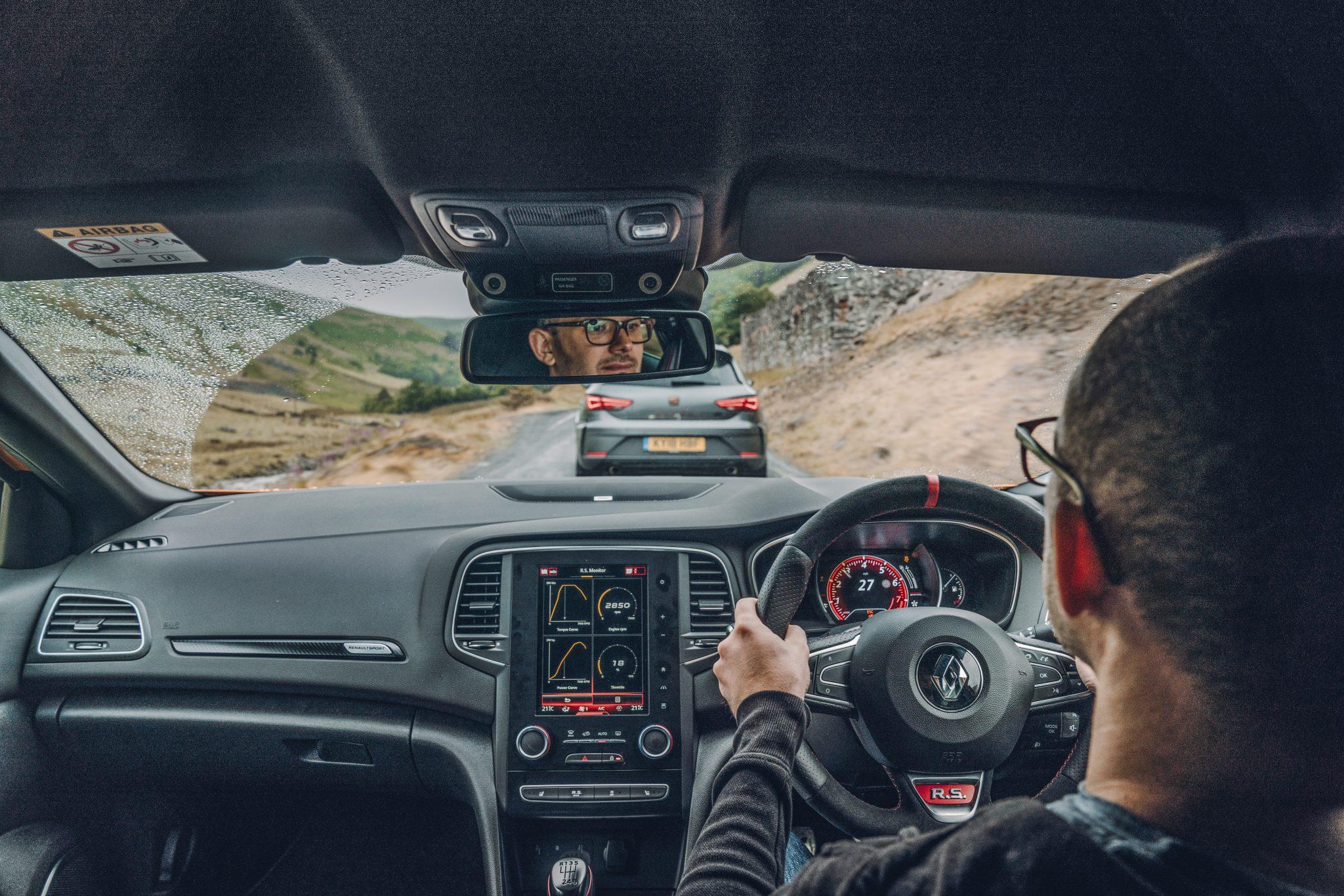 Renault Megane RS 280 interieur dashboard