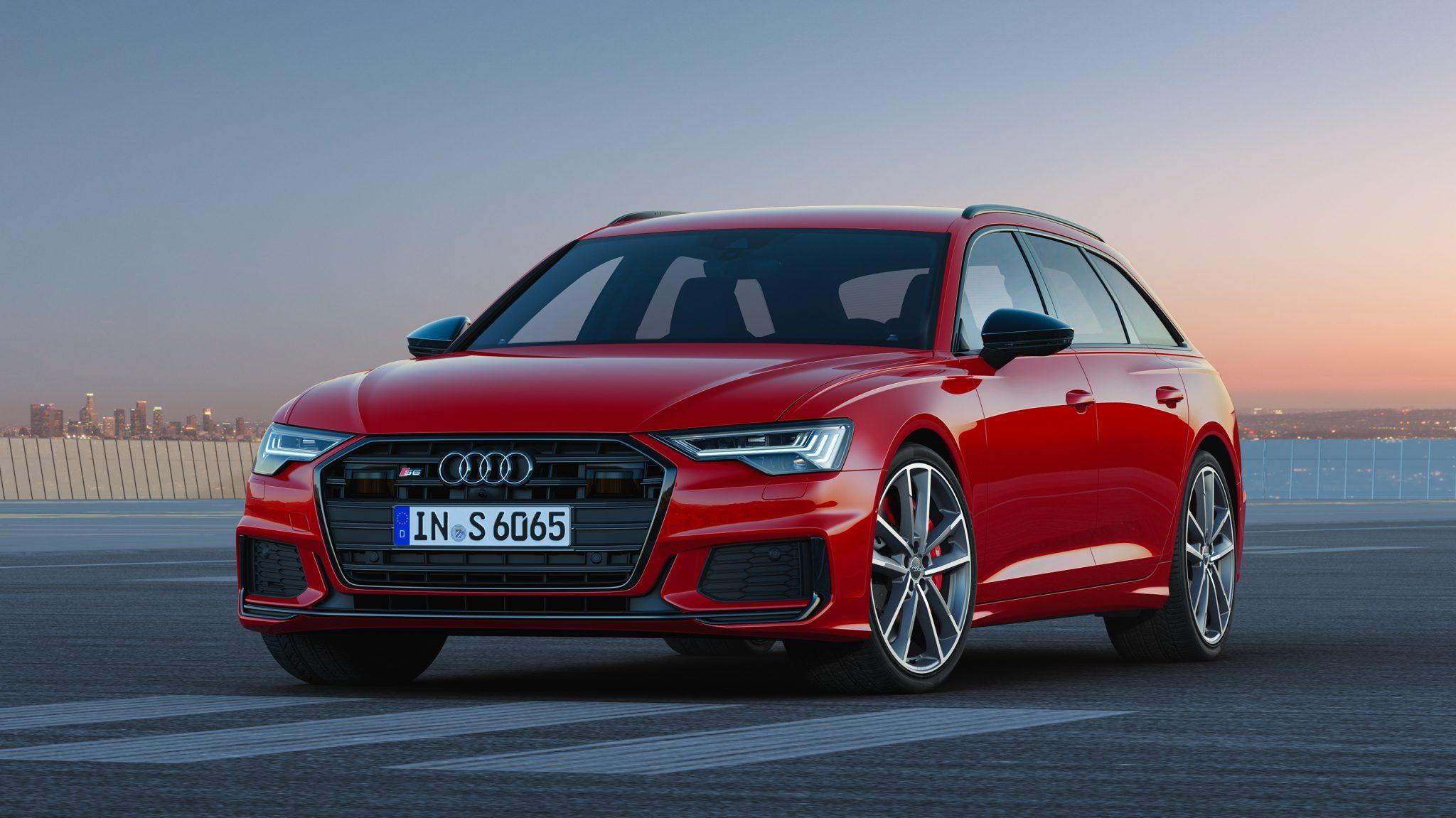 Audi S6 TDI Avant Tango Rood