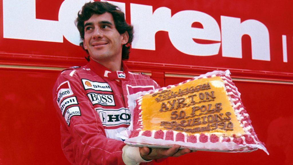 Ayrton Senna legendarisch