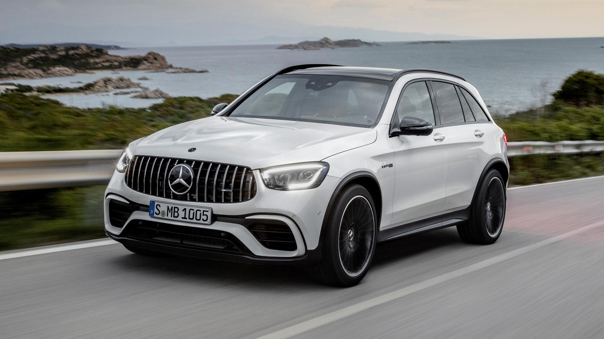 Mercedes-AMG GLC 63-facelift 2019