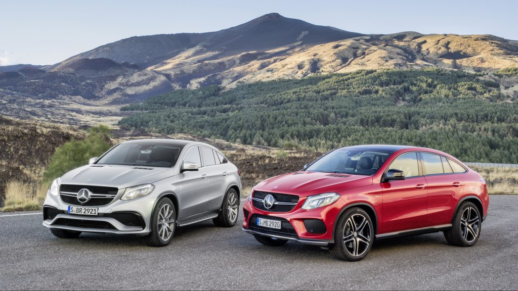 Mercedes-Benz GLE 450 AMG Coupé 4MATIC, Mercedes-AMG GLE 63 Coupé