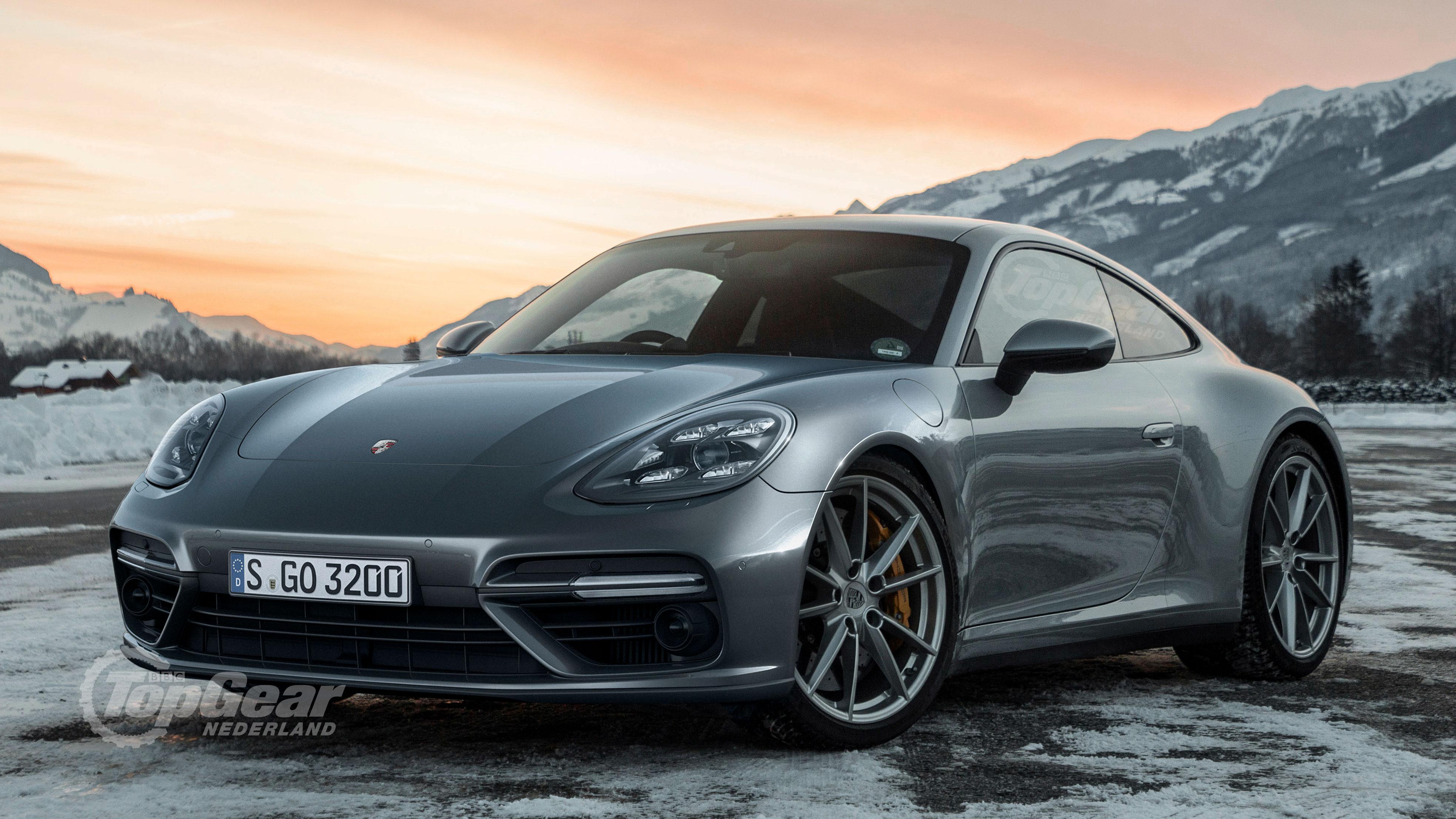 Porsche Panamera met twee deuren coupe