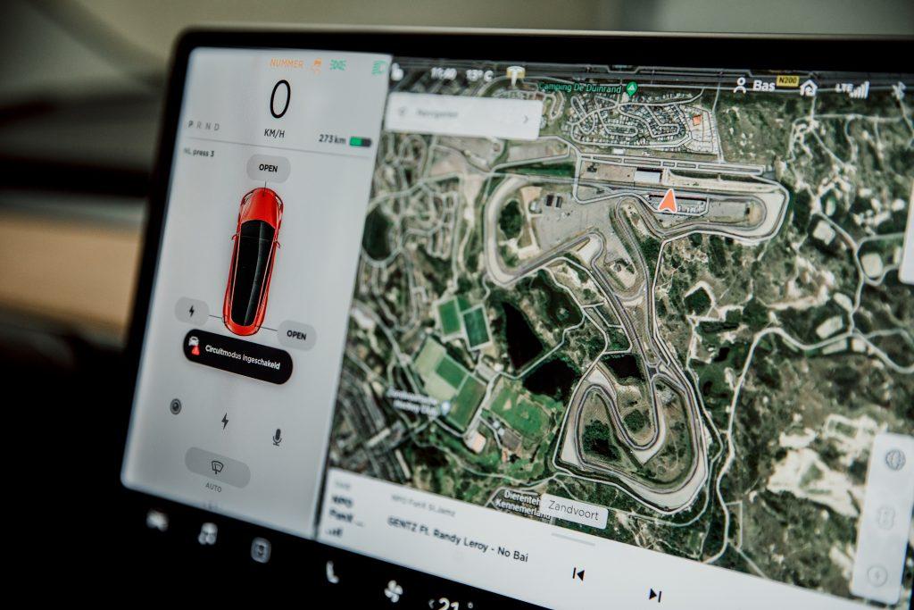 Tesla Model 3 Performance interieur scherm