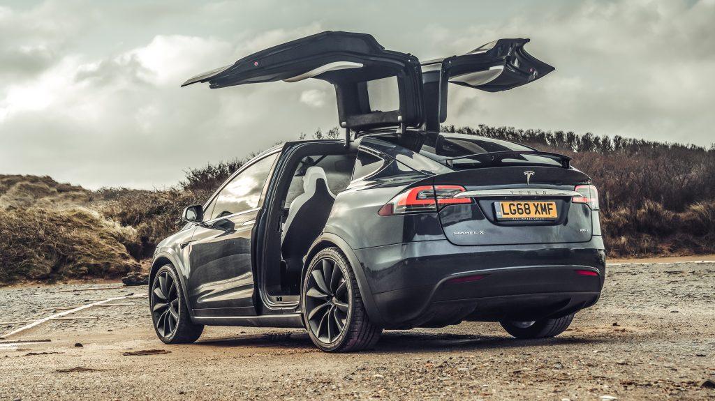 Tesla Model X 100d - Elektrische gezinsautos